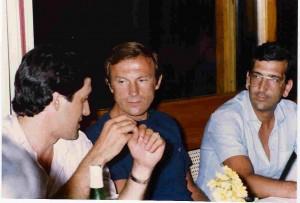 Renzo Battaglia (primo a sinistra)
