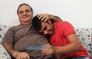Daniele Trovato con il papà Carmelo