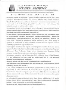 Relazione presidente Avis 1