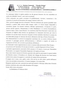 Relazione presidente Avis 2