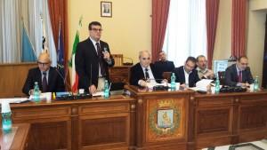 L'Assessore regionale alla Sanità Arru in Comune a La Maddalena (foto Claudio Ronchi)
