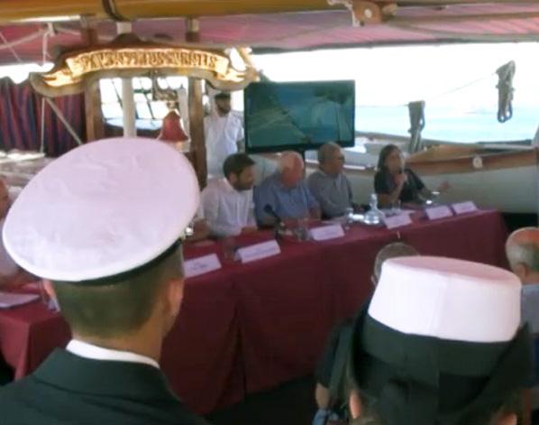 La 'Rotta dei contrabbandieri' parte dalla nave Palinuro