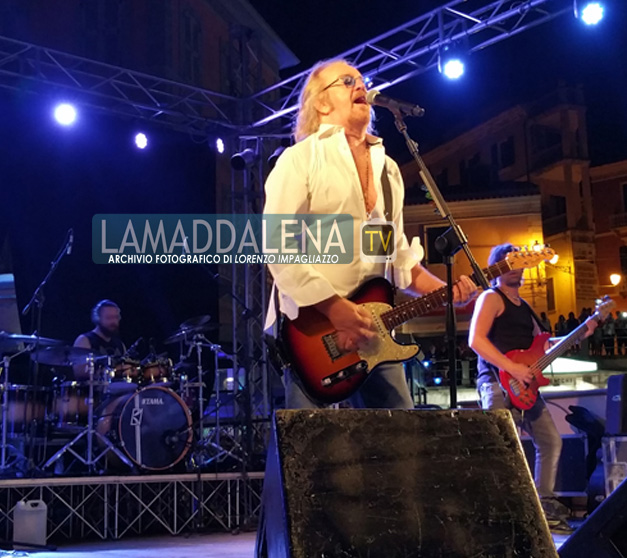 Umberto Tozzi incanta La Maddalena e si racconta!