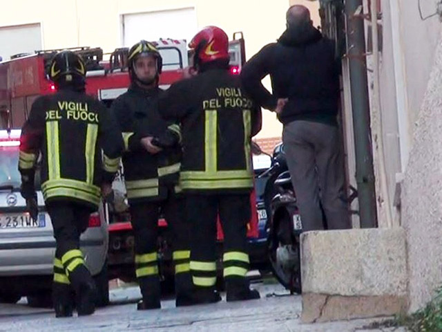 Fuoco e panico in una abitazione di Via Maggior Leggero a La Maddalena.