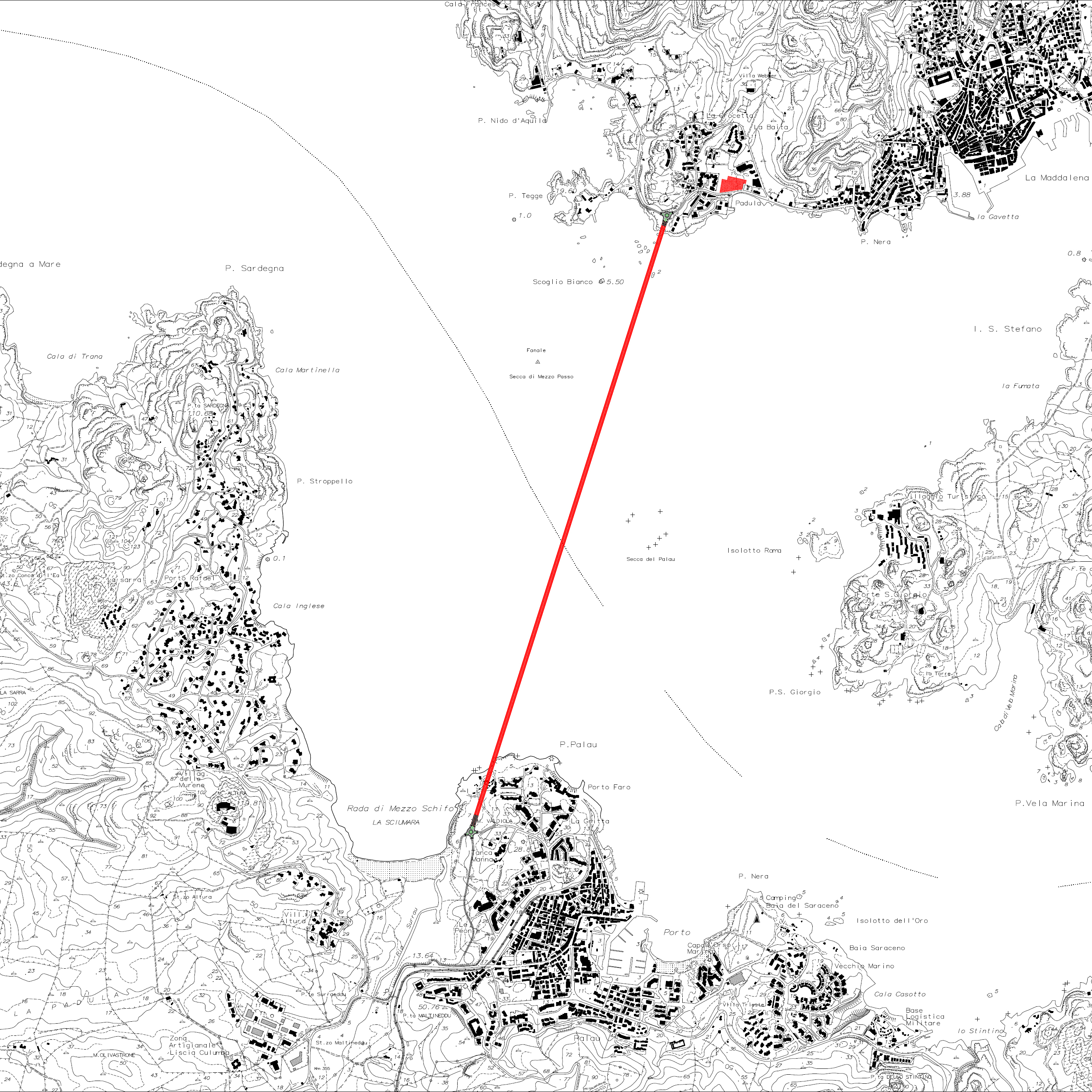 Le novità sul tunnel che collegherà La Maddalena a Palau