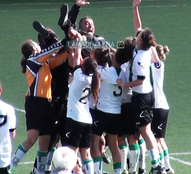 Calcio femminile, serie B. Caprera-Musiello Saluzzo: 2-0