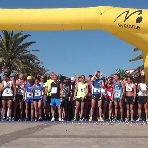 Record di runners alla Mezza del Parco di La Maddalena