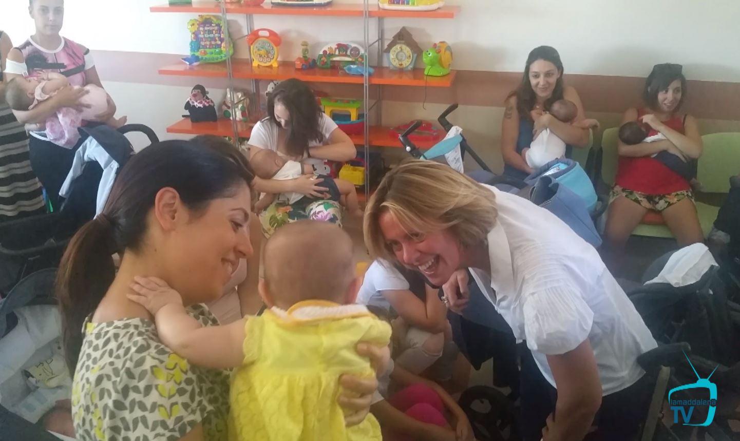La visita della Ministra della Salute Lorenzin a La Maddalenza