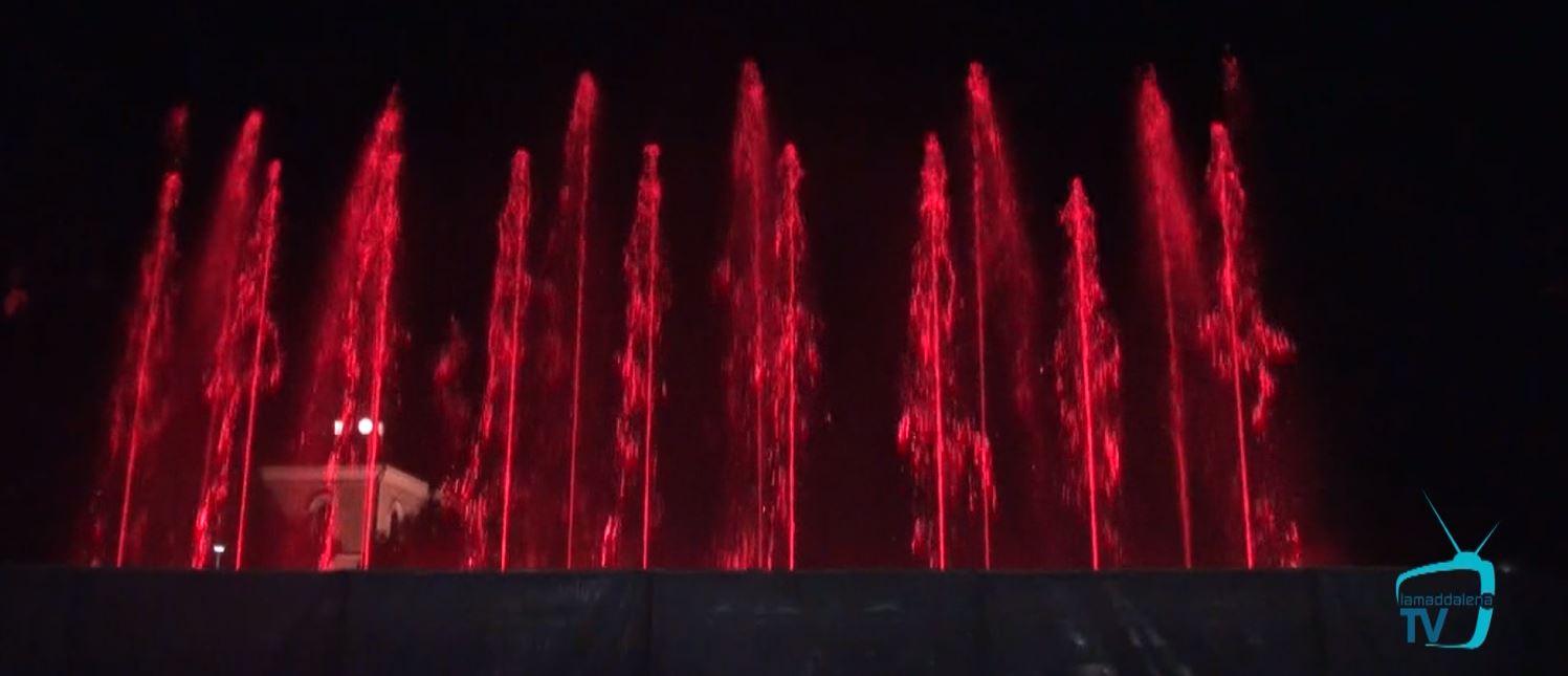 Giochi d'acqua e di fuoco a La Maddalena
