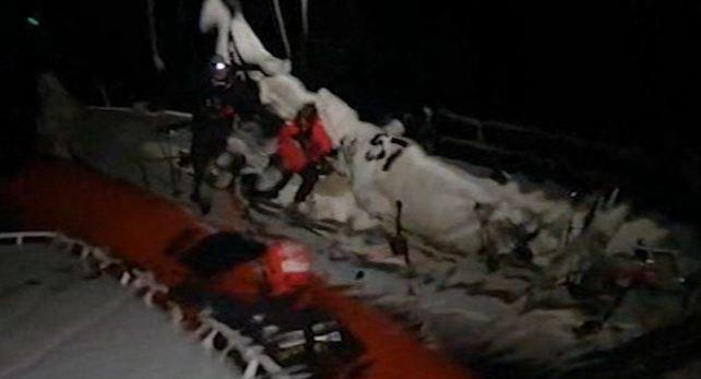 Barca a vela soccorsa dalla Capitaneria di Porto