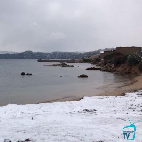 Neve sull'Arcipelago: per un giorno e una notte!