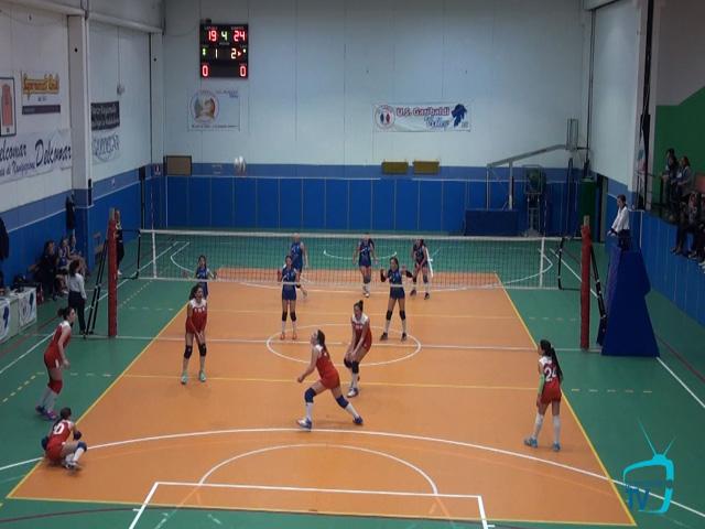 Pallavolo Under 14, Finale Provinciale: U.S.Garibaldi-Portotorres: 1-3