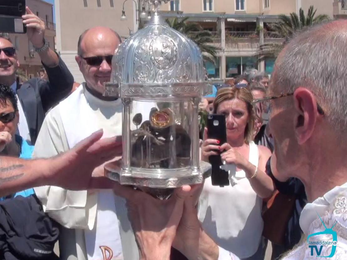 Le reliquie di Santa Rita arrivano a La Maddalena