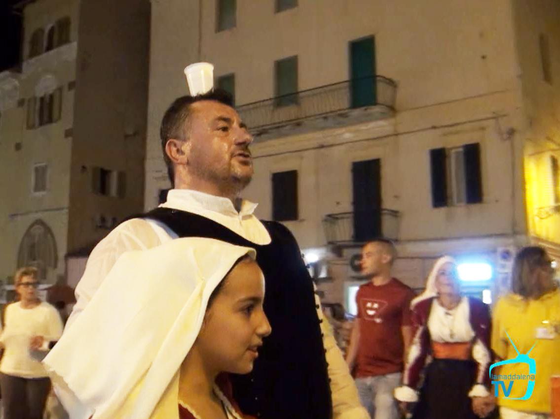 Coro e costumi di Chiaramonti per Santa Maria Maddalena.