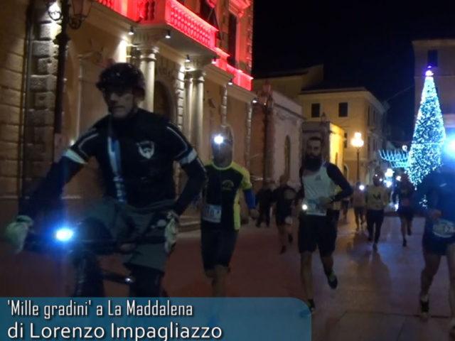 1000 gradini nella notte, a La Maddalena