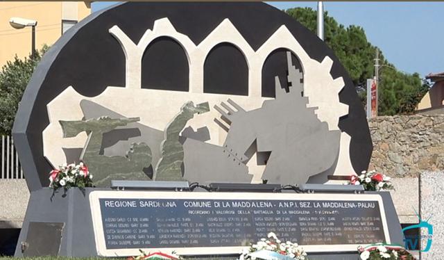 Ricordati i caduti della battaglia di La Maddalena 9-13 settembre 1943