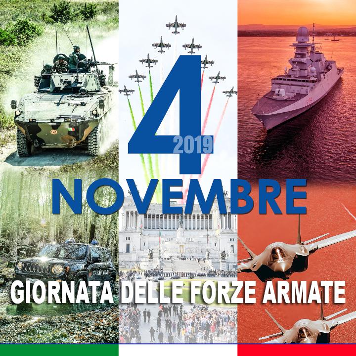 Celebrata la giornata dedicata alle Forze Armate