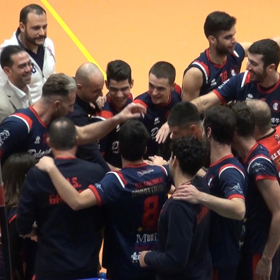 Pallavolo- U.S.Garibaldi- Anguillara Roma: 3-1